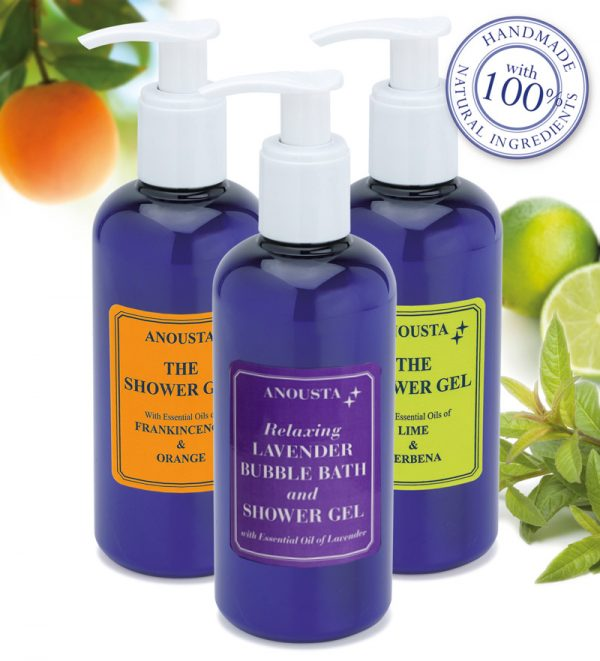 Anousta Shower gel / Bubble bath selection
