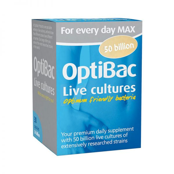 OptiBac Probiotics 'For every day MAX'